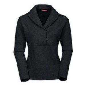 The North Face Womens Crescent Shawl Gray Sweater